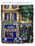 Italian Cafe Duvet Cover