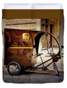 Italian Delivery Duvet Cover