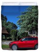 Jaguar E-pace Duvet Cover