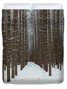 January Forest Duvet Cover