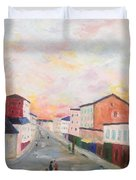 Japanese Colorful And Spiritual Nuance Of Maurice Utrillo Duvet Cover
