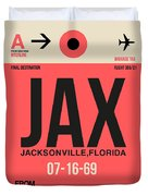 Jax Jacksonville Luggage Tag I Duvet Cover