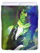 Jeff Beck, Love Is Green Duvet Cover
