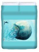 Jellyfish 4 Duvet Cover