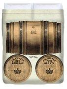 J.h. Cutter Old Bourbon Duvet Cover