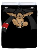 Jiu Jitsu Bjj Sloth Black Belt Light Duvet Cover