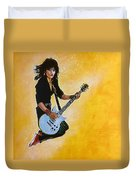 Joan Jett Duvet Cover