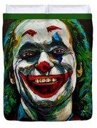 Joker Joaquin Phoenix Duvet Cover