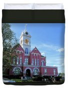 Jones County Court House - Gray, Georgia Duvet Cover