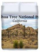 Joshua Tree National Park, California 03 Duvet Cover