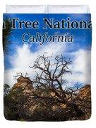 Joshua Tree National Park, California Box Canyon 02 Duvet Cover