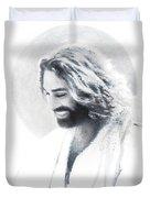 Joy Of The Lord Vignette Duvet Cover by Greg Olsen