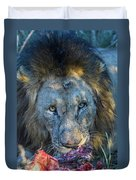 Jungle King With Kill With Killer Looks Duvet Cover