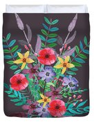 Just Flora II Duvet Cover