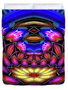 Kaleidoscopic Krystal Ball Duvet Cover