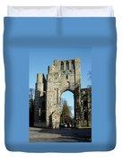 Kelso Abbey Ruin Duvet Cover