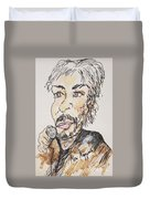 Kenny Loggins The Soundtrack King Duvet Cover