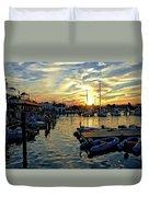 Key West Sunset Duvet Cover