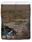 Kings River Waterfall Duvet Cover