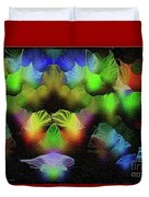 Kiss Of The Eclipse - Breaking The Gridlock Of Hate Number 4 Duvet Cover