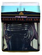 Klo Ren On The Star Wars Stage Hollywood Studios Duvet Cover