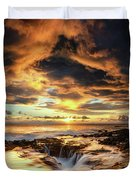 Kona Sunset Duvet Cover