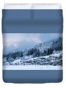 Koprivshtica Winter Panorama Duvet Cover