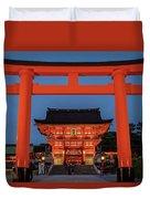 Kyoto Torii Gate Duvet Cover