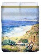 Laguna Shores 1916 Duvet Cover
