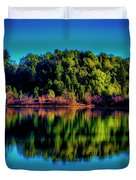 Lake Double Reflection Duvet Cover
