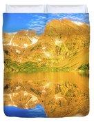 Lake Isabelle, Revisited Duvet Cover