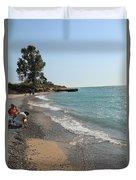 Lake Michigan Frankfort Mi Duvet Cover