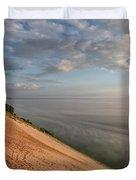 Lake Michigan Overlook 11 Duvet Cover