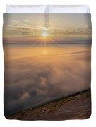 Lake Michigan Overlook 13 Duvet Cover