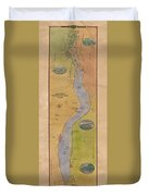 Lake Pepin Duvet Cover