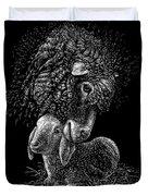 Lamb Duvet Cover by Clint Hansen