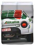 Lancia Stratos Rear Duvet Cover