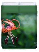 Lancifolium - The Tiger Lily Duvet Cover