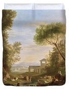 Landscape With Water Duvet Cover