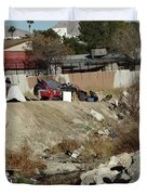 Las Vegas Homeless 3 Duvet Cover