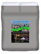 Las Vegas The City That Never Sleeps Custom Pc Duvet Cover