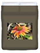 Last Cone Flower Duvet Cover