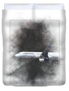 Latam Brasil Airbus A321-211 Painting Duvet Cover