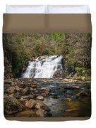 Laurel Falls In Spring I Duvet Cover