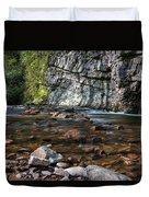 Laurel Fork In Spring I Duvet Cover