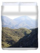 Layers Of A Mt. View Duvet Cover