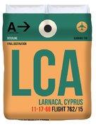 Lca Cyprus Luggage Tag I Duvet Cover