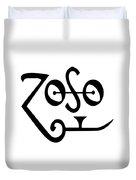 Led Zeppeling Z O S O - T-shirts Duvet Cover