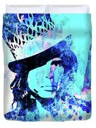Legendary Aerosmith Watercolor Duvet Cover