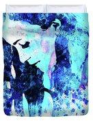 Legendary Alanis Morissette Watercolor Duvet Cover